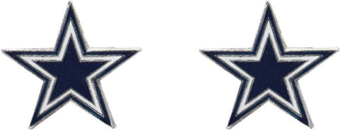 Cowboys Stud Post Earrings