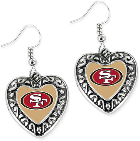 49ers Dangle Earrings