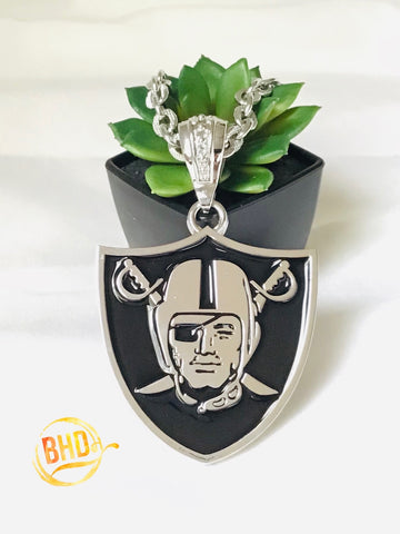 Raiders Medallion Chain