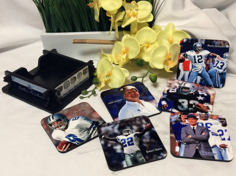 Cowboys Legends Coasters Set