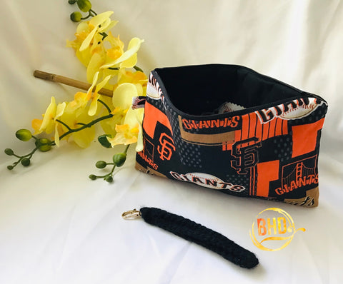 S.F. Giants Wristlet|Clutch|Toiletries Bag