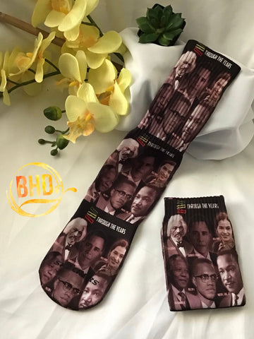 Black History Crew Socks