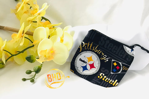 Steelers Coin|Lipstick Pouch