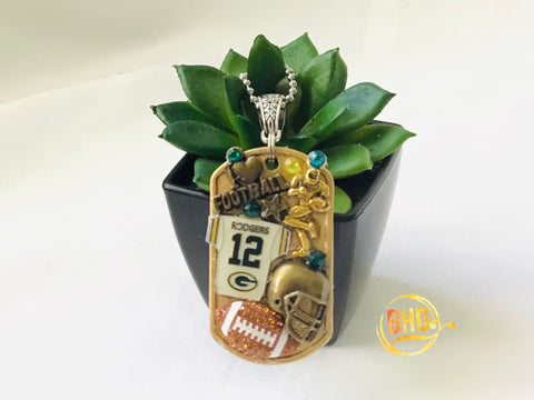 Packers Football DogTag