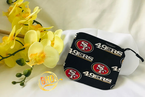 49ers Coin|Lipstick Pouch
