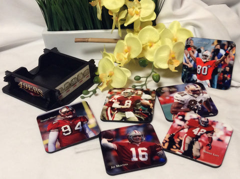 49ers Legends Coasters Set