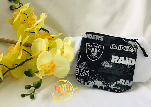 Raiders Coin|Lipstick Pouch