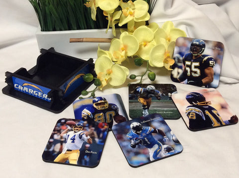 Chargers Legends Coasters Set