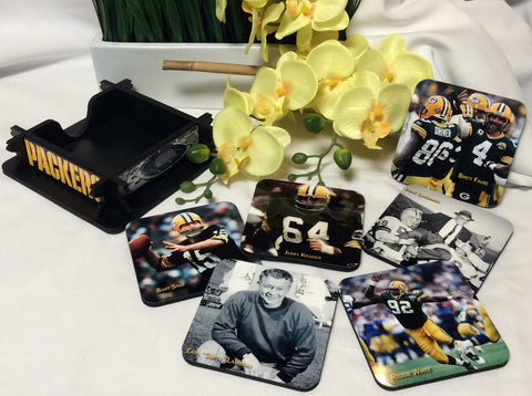 Packers Legends Coasters Set