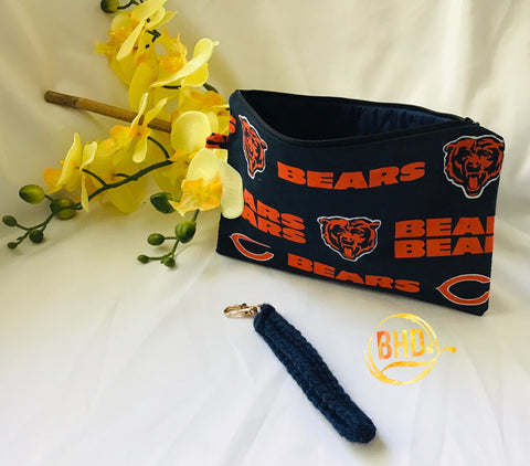 Bears Wristlet|Clutch|Toiletries Bag