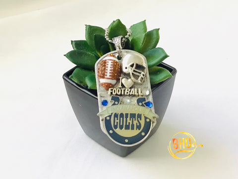 Colts Football DogTag