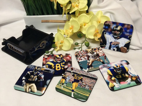 Rams Legends Coasters Set