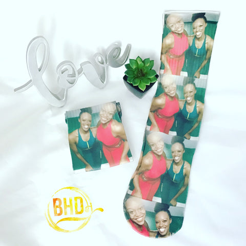 Personalized Photo Crew Socks
