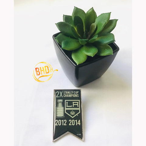 L.A. Kings Championship Banner Pin