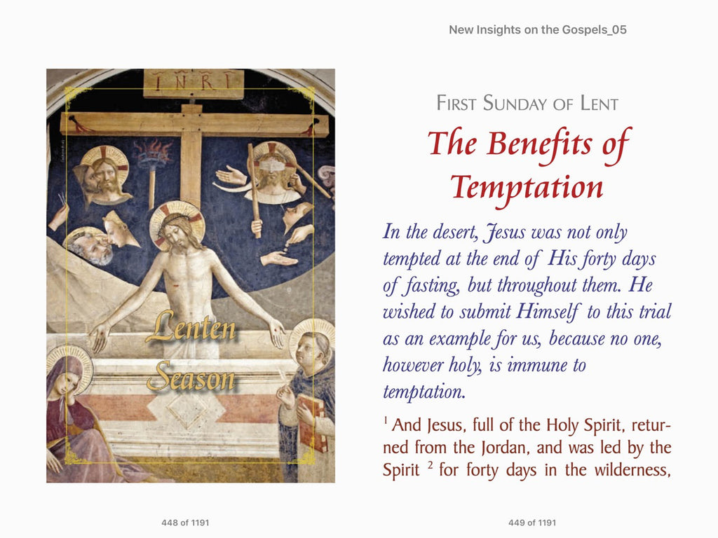 New Insights on the Gospels, Volume 5 by Msgr Joao scognamiglio cla dias ep Commentaries on the Sunday Gospels of Advent, Christmas, Lent, and Easter