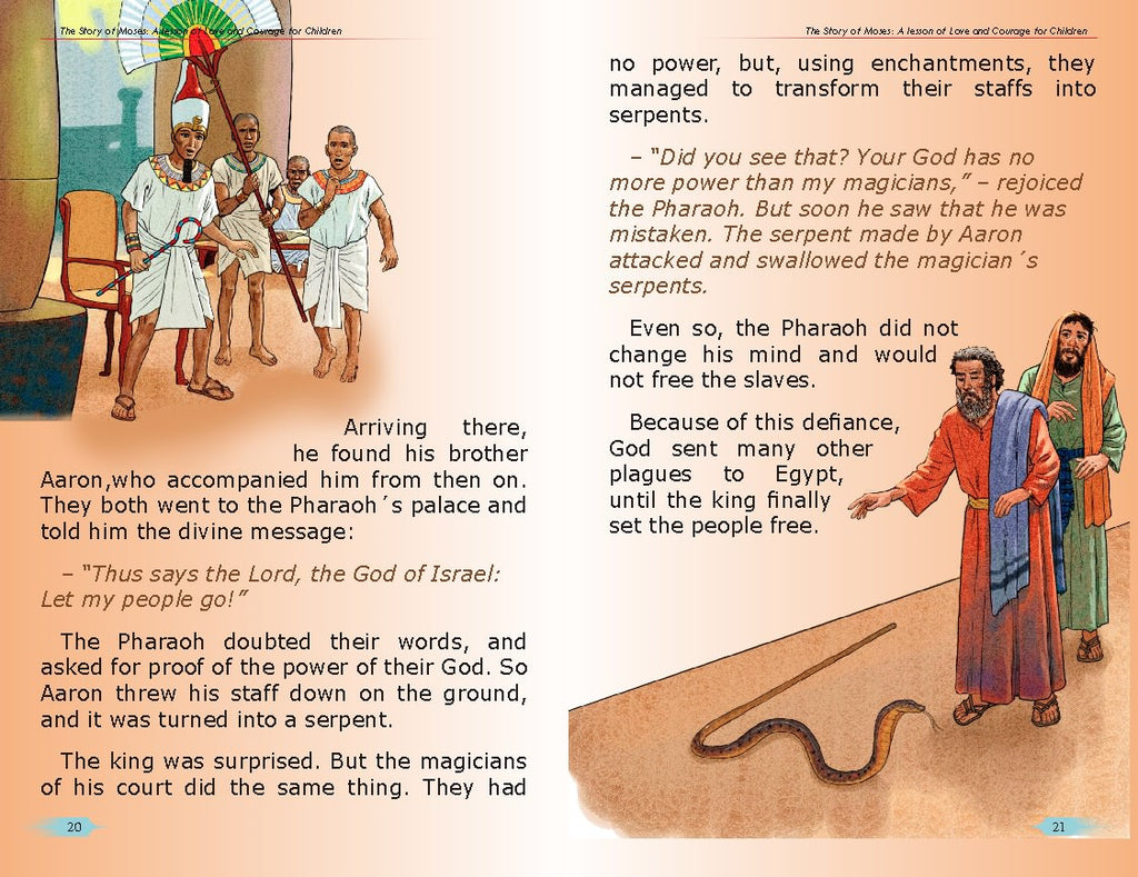 The Story of Moses. A Lesson of Love and Courage for Children