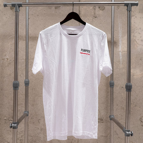 """PURPOSE"" T-Shirt - White"