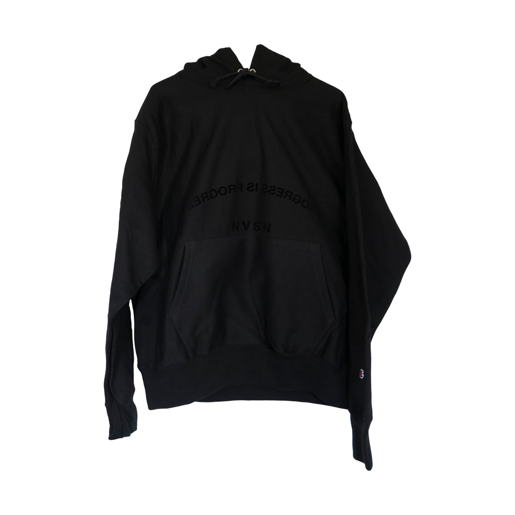 Black Champion Reverse Weave Edition Hoodie