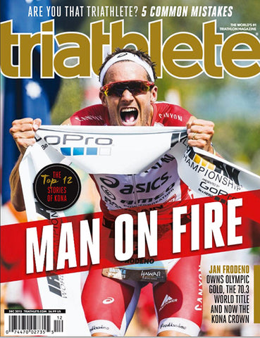 Triathlete - Featuring Cafe Collection - December 2015 - Cover