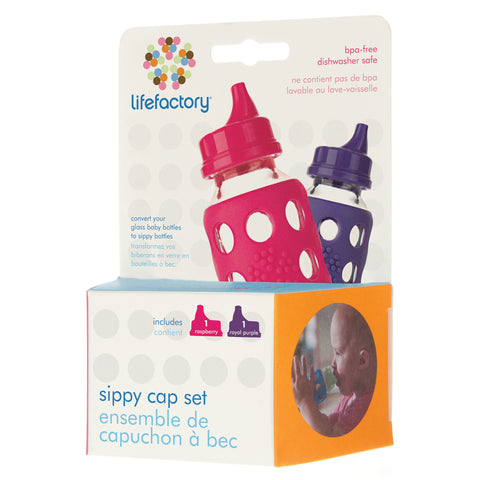 Sippy Caps - Raspberry/Royal Purple