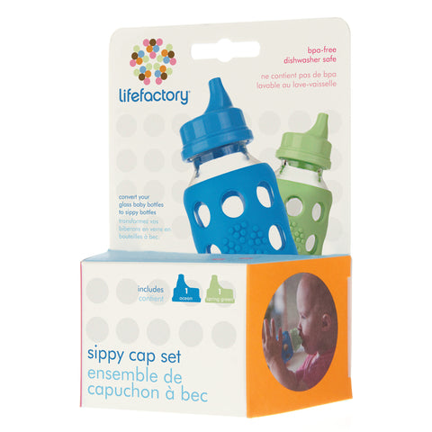 Sippy Caps - Ocean/Spring Green