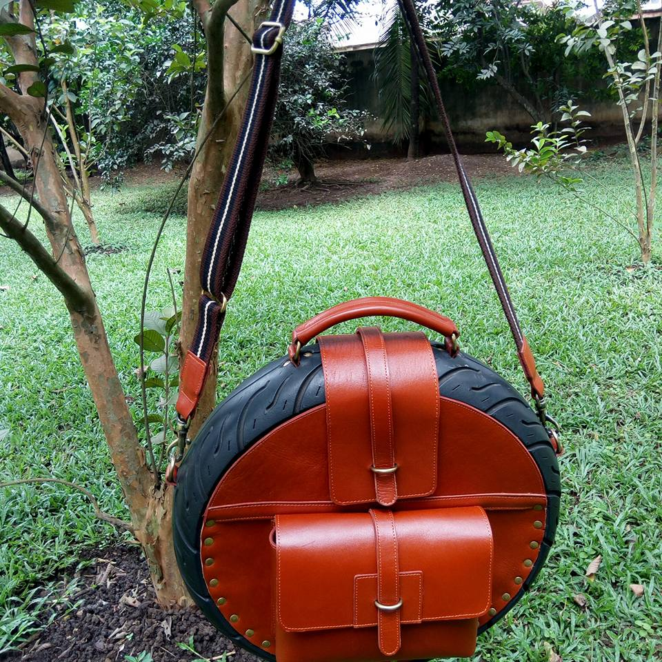 Brown Obi Tyre Bag
