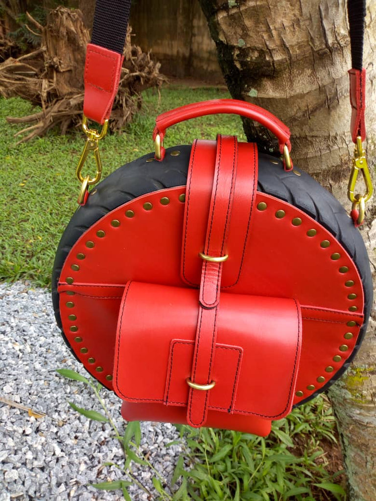 Red Obi Tyre Bag