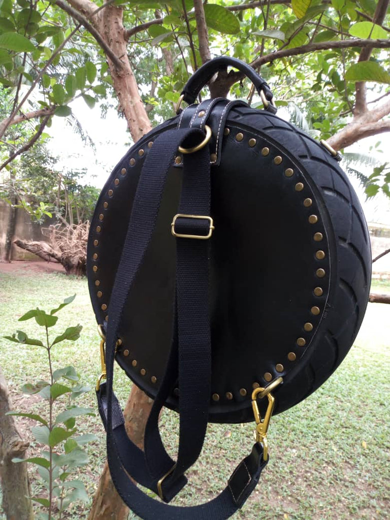 Black Obi Tyre Bag