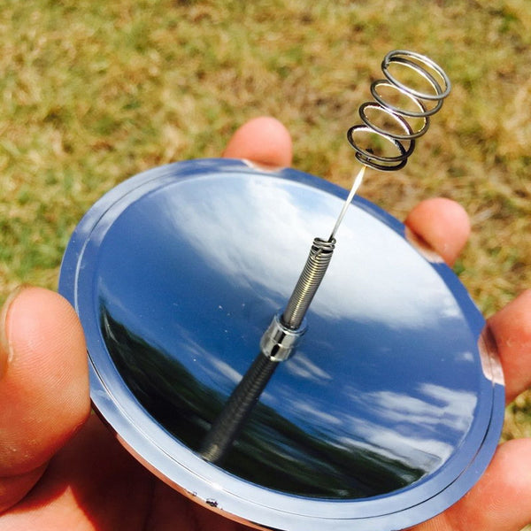 Solar Fire Starter - Camping, Outdoors, Recreation, Backcountry, Survival, Tactical