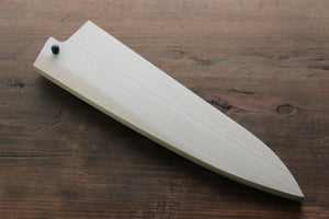 Magnolia Saya Sheath for Gyuto Knife with Plywood Pin 210mm - Seisuke Knife