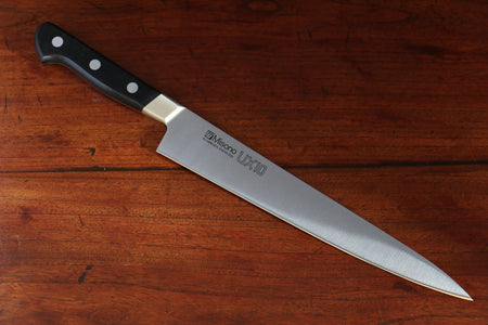 Yoshimi Kato Silver Steel No.3 Hammered Sujihiki Japanese Chef Knife 270mm