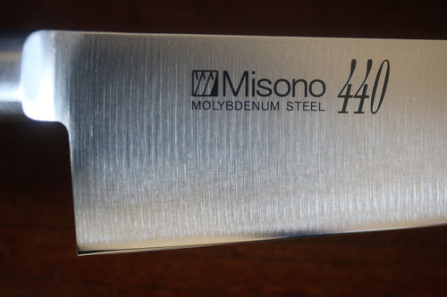 Misono 440 Sujihiki Slicer Molybdenum Steel Japanese Kitchen Knife-240mm