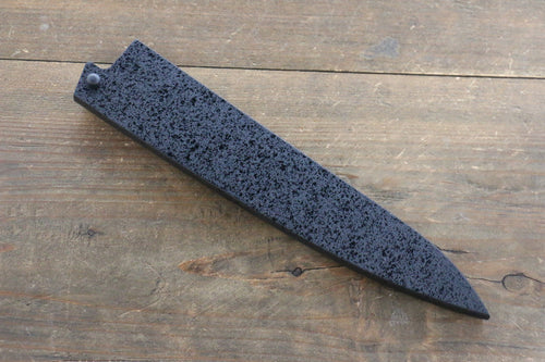 Black Saya Sheath for Petty Chef's Knife with Plywood Pin-180mm