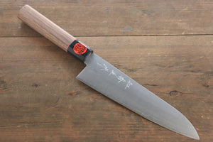 Shigeki Tanaka Silver Steel No.3 Nashiji Finish Gyuto Japanese Chef Knife 180mm - Seisuke Knife