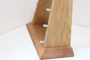 Chestnut Wood Knife Tower Rack for 8 Knives - Seisuke Knife