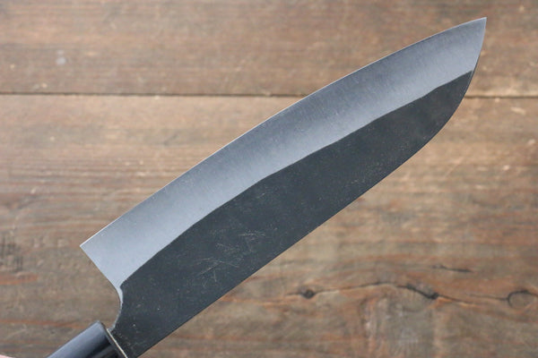 Ogata White Steel No.2  Kurouchi Damascus Santoku Japanese Knife 165mm with Jura Handle