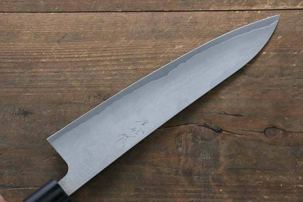 Ogata Silver Steel No.3 Damascus Black Finished Gyuto Japanese Knife 210mm with Jura Handle