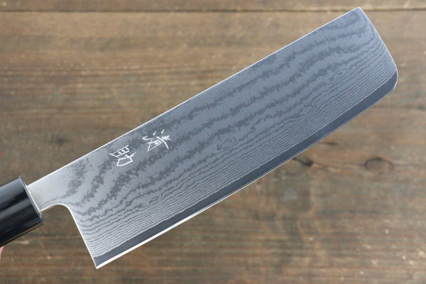 Seisuke VG10 63Layer Damascus Usuba Japanese Chef Knife 165mm - Seisuke Knife