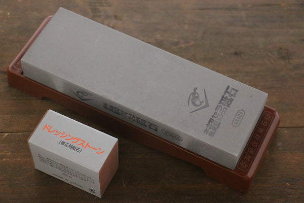 Naniwa Ceramic Fine Sharpening Stone with Plastic Base- #5000