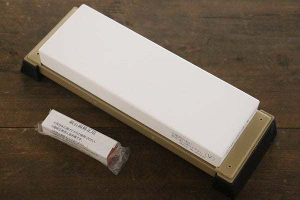 Suehiro CERAX 8080 Ceramic Fine Sharpening Stone with Plastic Base - #8000 - Seisuke Knife