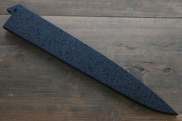 SandPattern Saya Sheath for Sujihiki-Slicer Knife with Plywood Pin-300mm - Seisuke Knife