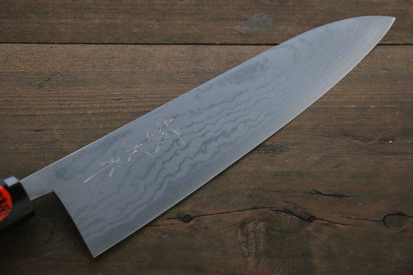 Shigeki Tanaka Blue Steel 17 Layer Damascus Gyuto Japanese Chef Knife 210mm