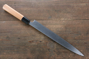 Sukenari ZDP4 Mirrored Finish Yanagiba Japanese Knife with Yew Tree Handle - Seisuke Knife