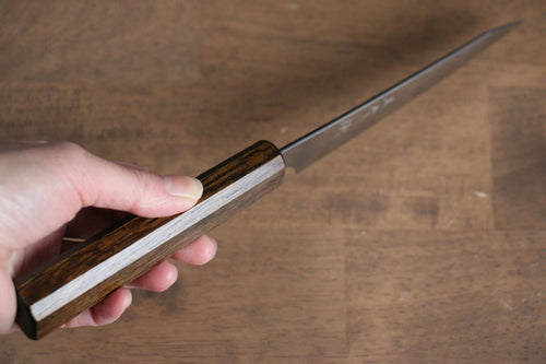 Yoshimi Kato VG10 nickel Damascus Petty-Utility Japanese Chef Knife 120mm