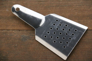 Japanese Grater With Rock Salt - Seisuke Knife