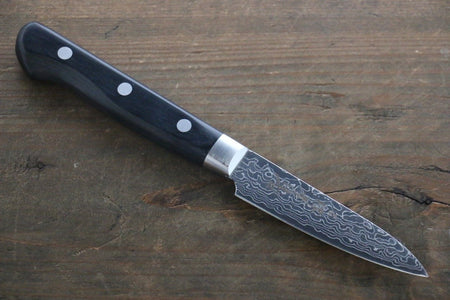 Seisuke VG10 17 Layer Damascus Petty-Utility Japanese Knife 135mm with Saya
