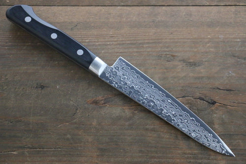 Sakai Takayuki AUS10 45 Layer Mirrored Damascus Petty Japanese Chef Knife 135mm