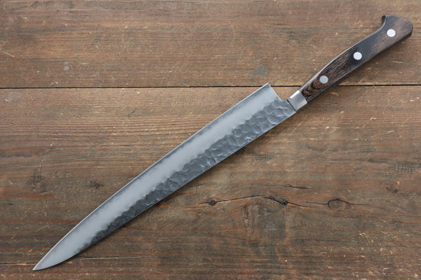 Kenshin 17 Layer Damascus Hammered Japanese Chef Kitchen Knife 240mm