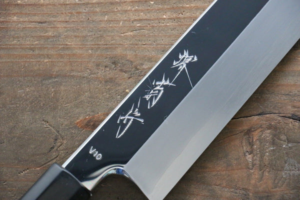 Kikumori VG10 Mirrored Finish Kiritsuke Japanese Chef Knife 240mm - Seisuke Knife