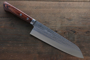 Kunihira VG1 Hammered Gyuto Japanese Chef Knife 180mm with Bolster - Seisuke Knife